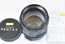 PENTAX Super-Multi-Coated TAKUMAR 85mm F1.8 【整備済 M42マウントレンズ】