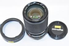 MINOLTA NEW MD ROKKOR 35-135mm F3.5-4.5 【純正フード付】