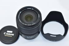 Canon EF-S 15-85mm F3.5-5.6 IS USM 【純正フードEW-78E付】