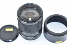 Canon NEW FD 100mm F2 【純正フードBT-52付】