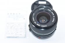 Canon NEW FD 24mm F2.8 【整備済】